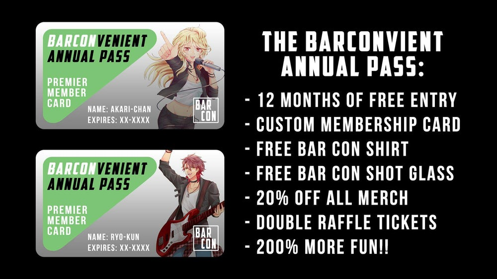 Image of BAR CONvenient Annual Pass