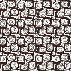 Image of Hip Squares Organic Cotton Fabric