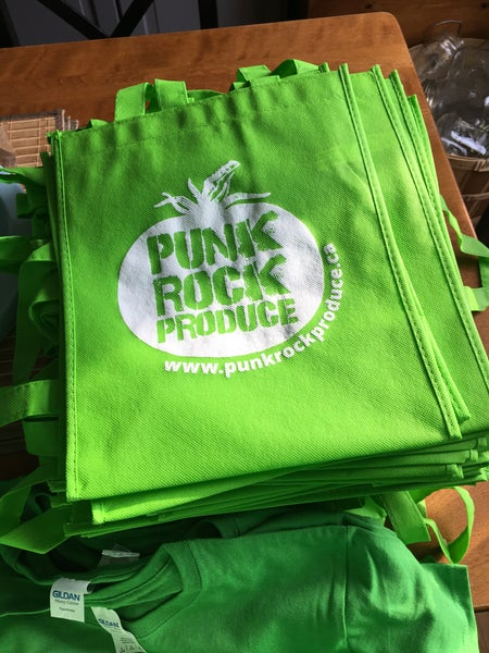 Image of Punk Rock Produce Grocery Bag