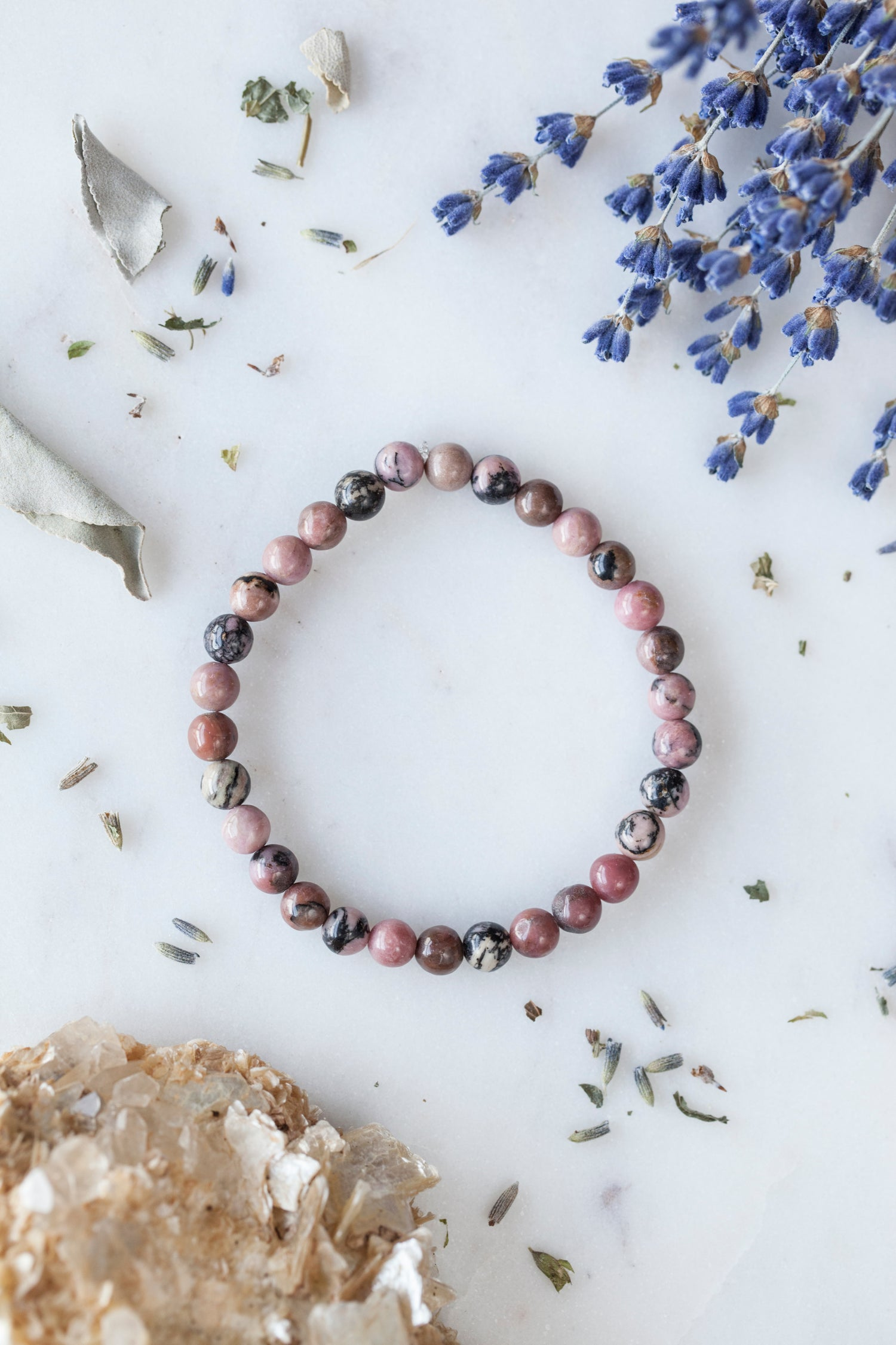 Image of Rhodonite Stacking Bracelet