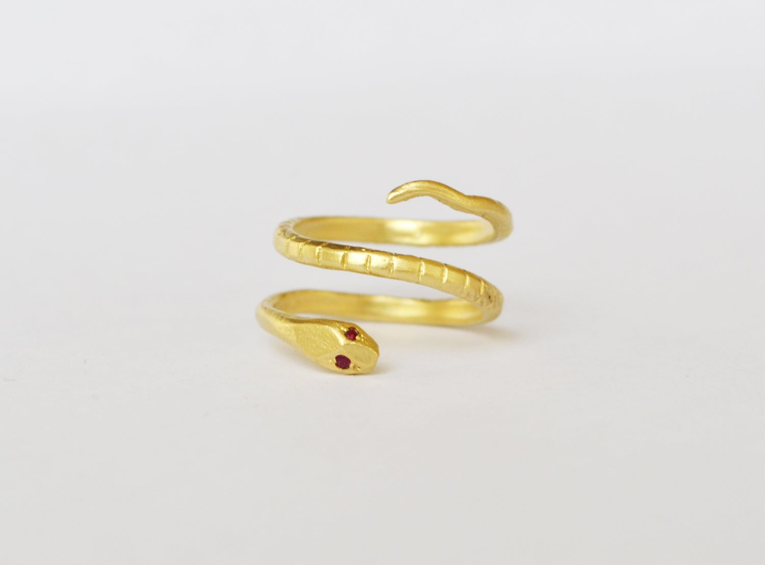 Image of Double serpent ring