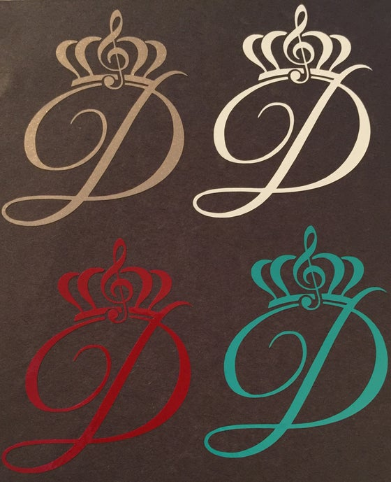 "Image of Brand New Colors & Last of other color ""D"" Logo Decals"