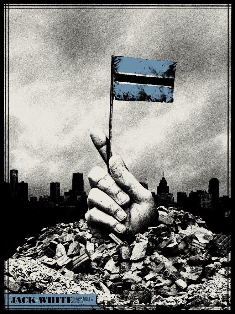 Image of Jack White / Detroit / Fox Theatre / 2014