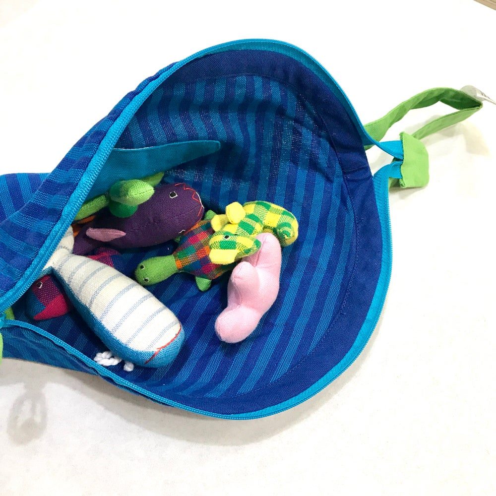 Image of My sea pouch with sea animals