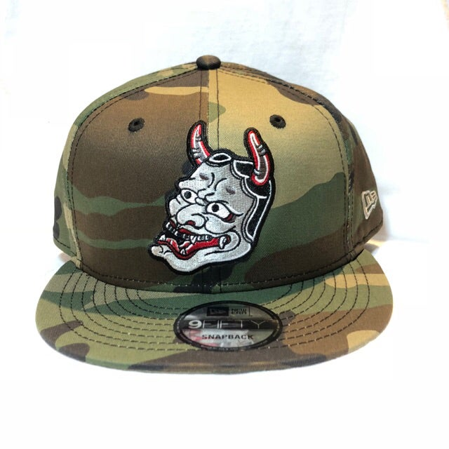 Image of NEW ERA HANNYA CAMO 9FIFTY SNAP BACK CAP