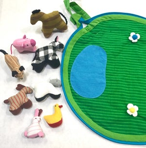Image of My farm pouch with farm animals