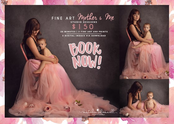 Image of Fine Art | Mother & Me Studio Session