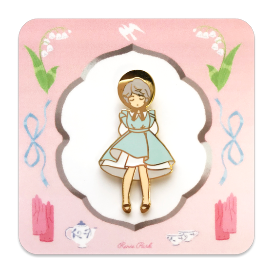 Image of Limited Edition - Blue Dress Pin