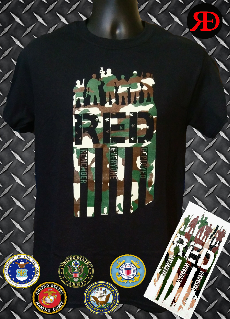 Image of R.E.D. Camo T-Shirt