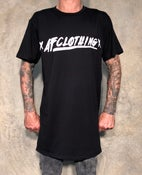 Image of xAFCLOTHINGx Tall Tee BLACK