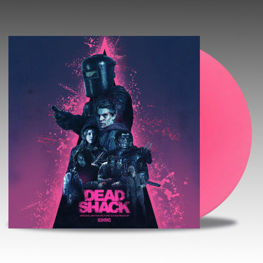 Image of Dead Shack (Original Motion Picture Soundtrack) 'Pink Vinyl' - Humans