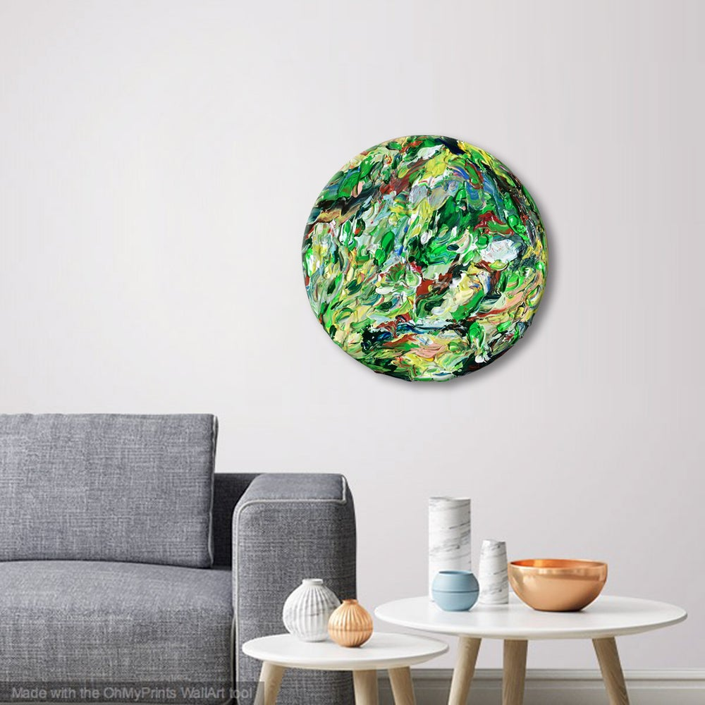 Image of Nature always finds the way - 40cm round