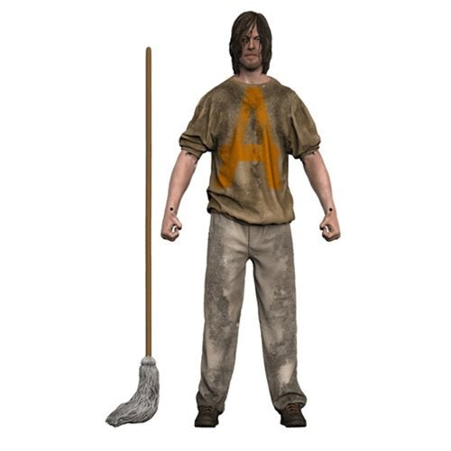 Image of The Walking Dead Savior Prisoner Daryl 7-Inch Action Figure