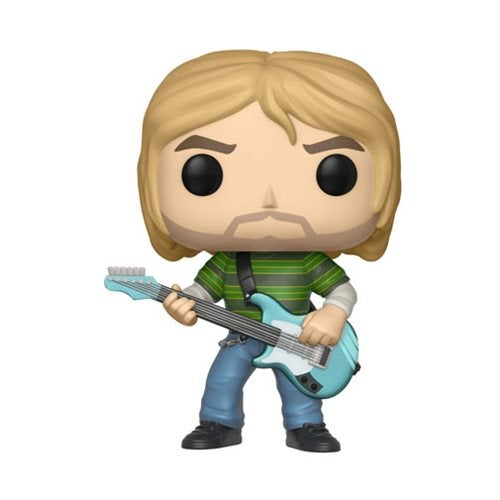 Image of Kurt Cobain in Striped Shirt Pop! Vinyl Figure