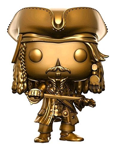 Image of Funko Pirates of the Caribbean Figure Jack Sparrow Gold exc