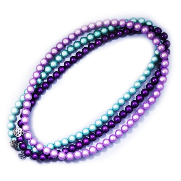 Image of Glow Bead 8mm Necklace
