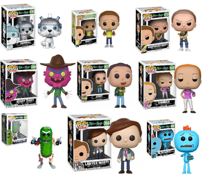 Image of Rick and Morty Pop vinyls