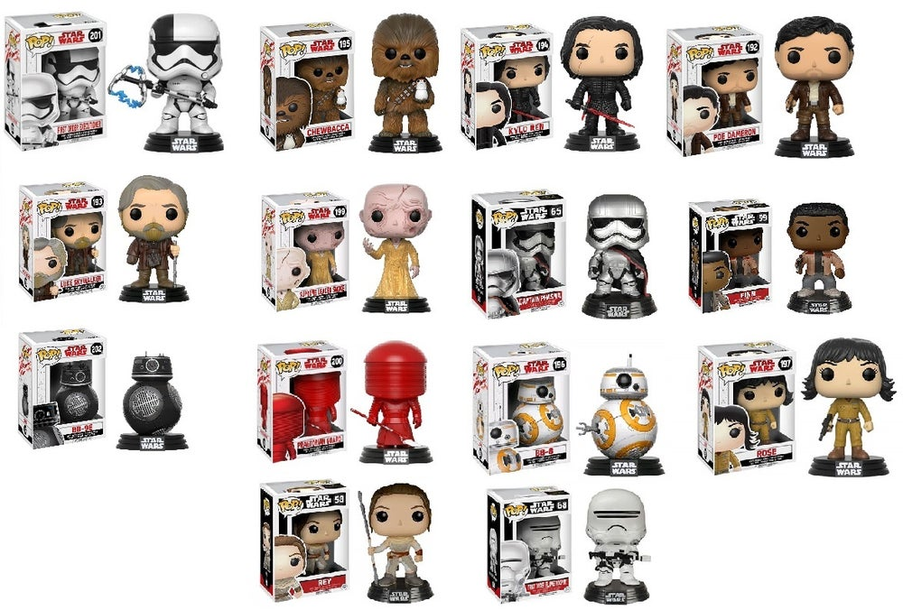 Image of Star Wars Pop! Vinyl