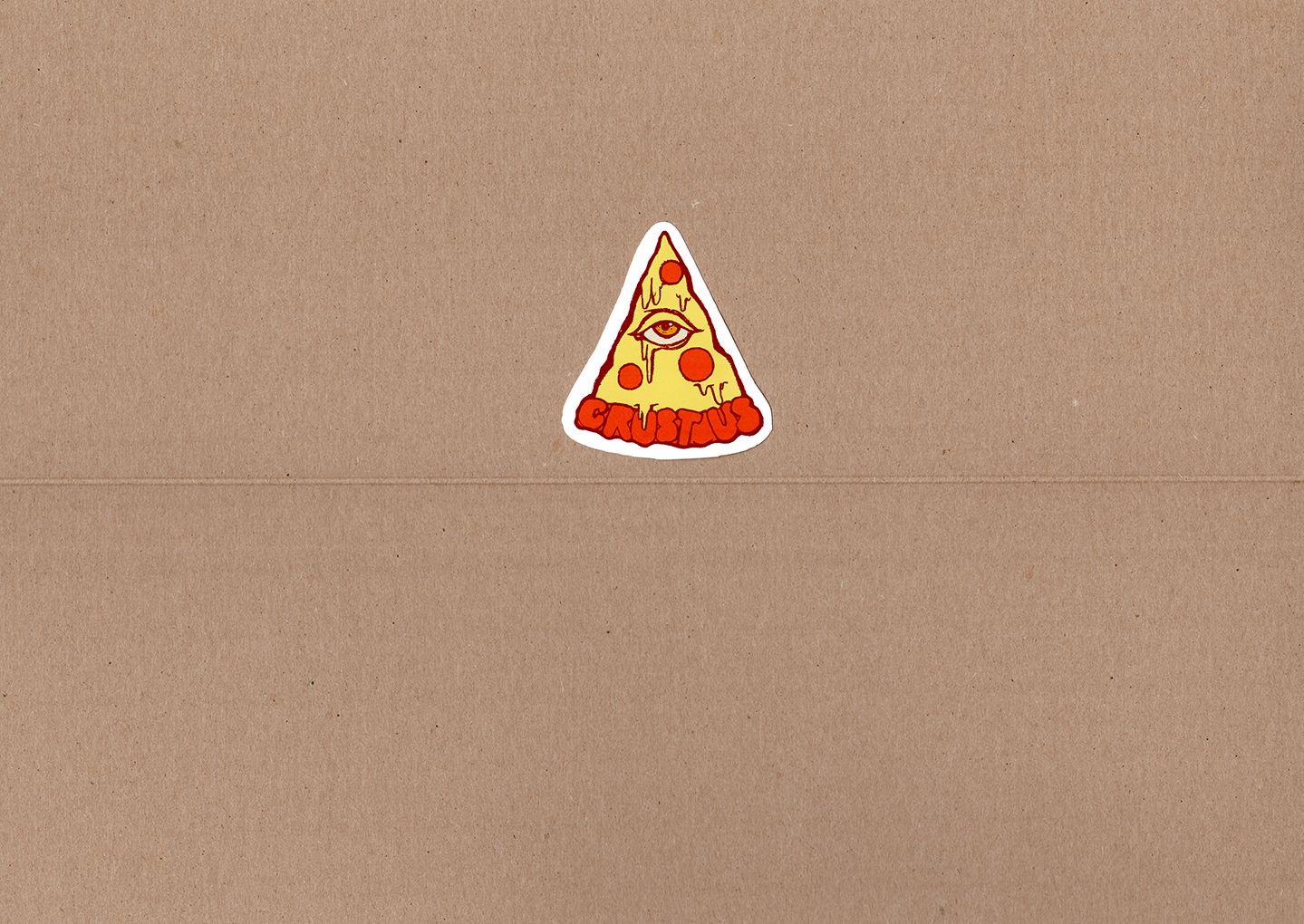 "Image of The Pizzauminati! - 3.5""x3.5"" Sticker"