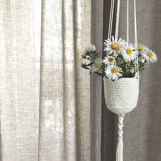 Image of LA MIGNONNE Petite suspension pour plante ou bouquet