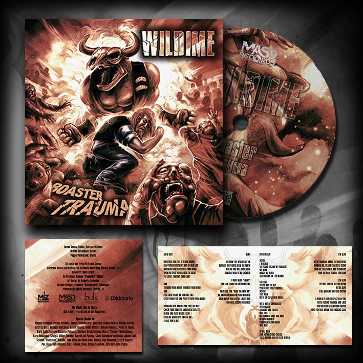 Image of Wildime - Boaster Trauma Digipack