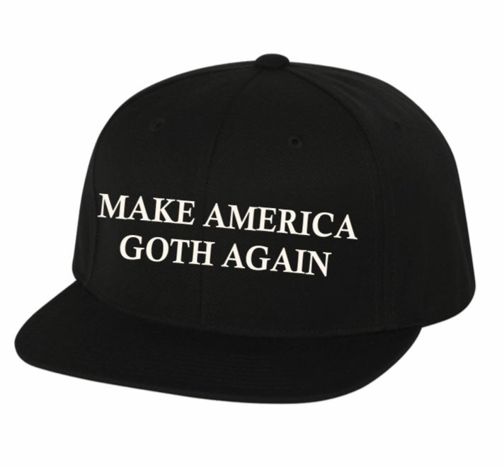 "Image of ""Make America Goth Again"" Snapback"