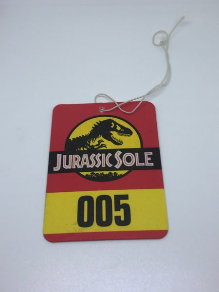 Image of JURASSIC SOLE AIR FRESHENER