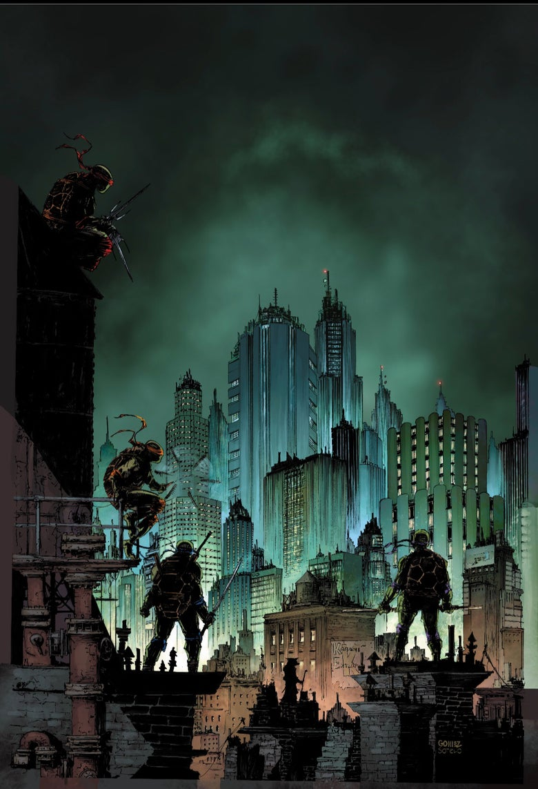 Image of TMNT: Urban Legends #1 Joel Gomez Exclusive Variant (Pre-Order)