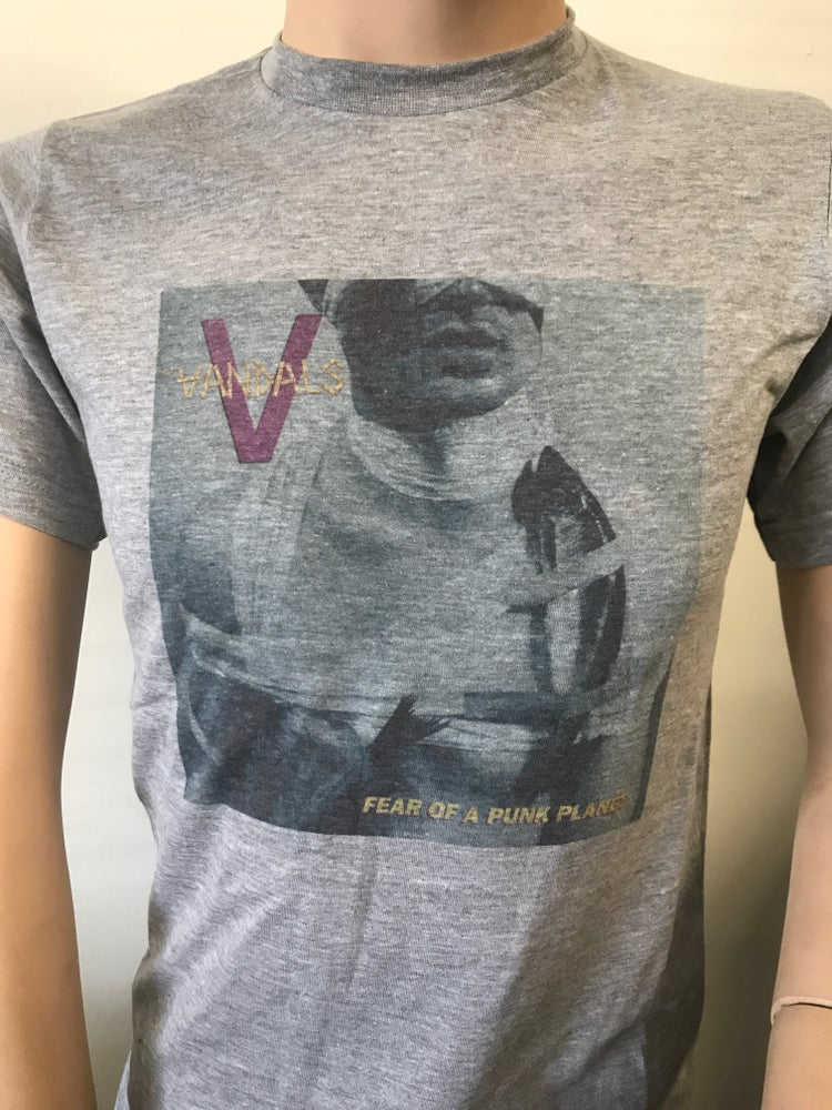 "Image of ""Fear Of A Punk Planet"" album cover The Vandals T-shirt"