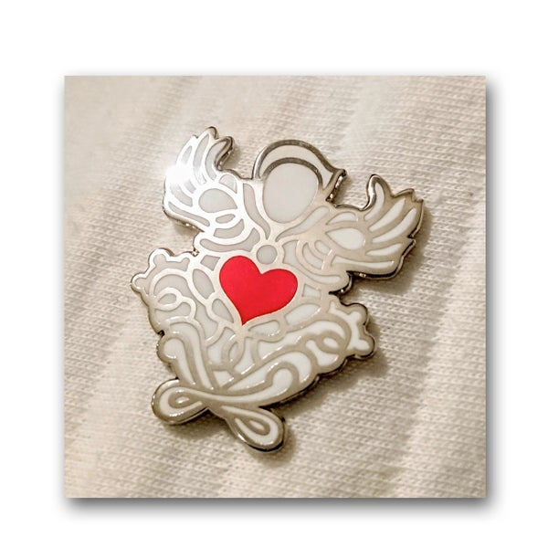 Pin's Guardian Angel of Love / 2 modèles - PSY la boutik