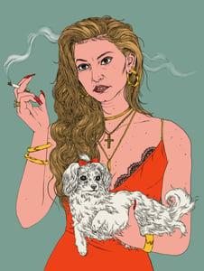 Image of Adriana La Cerva Print