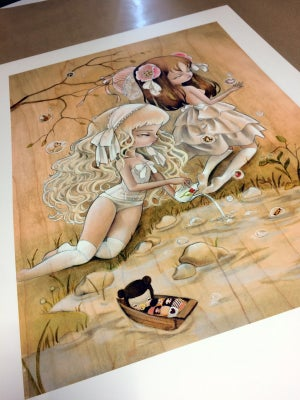Image of Bubbles Memories Limited Edition Print by Kukula