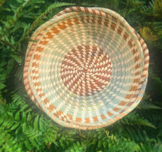 Image of Candy Bowl with Braided Rim