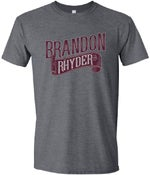 Image of Grey/Maroon Shirt