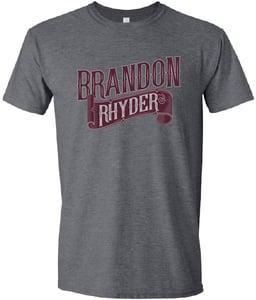 Image of Grey/Maroon Shirt