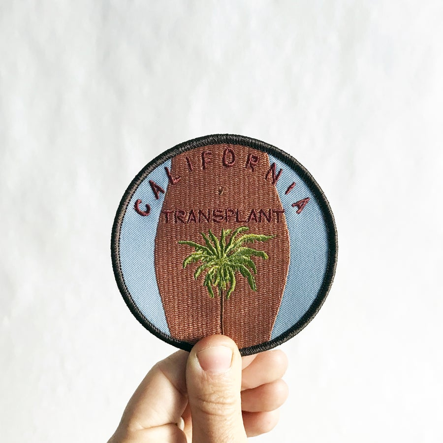 Image of CALIFORNIA TRANSPLANT  PATCH - DARK