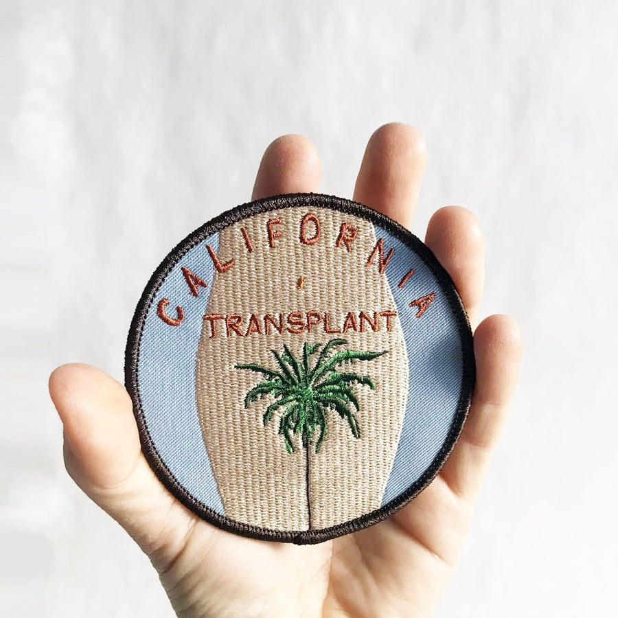 Image of CALIFORNIA TRANSPLANT PATCH - LIGHT