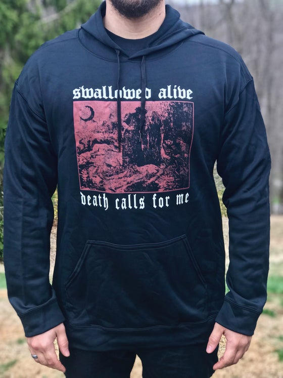 Image of DEATH CALLS FOR ME HOODIE (TOUR LEFTOVER)