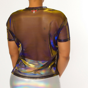 Image of See Me Later Sheer Top