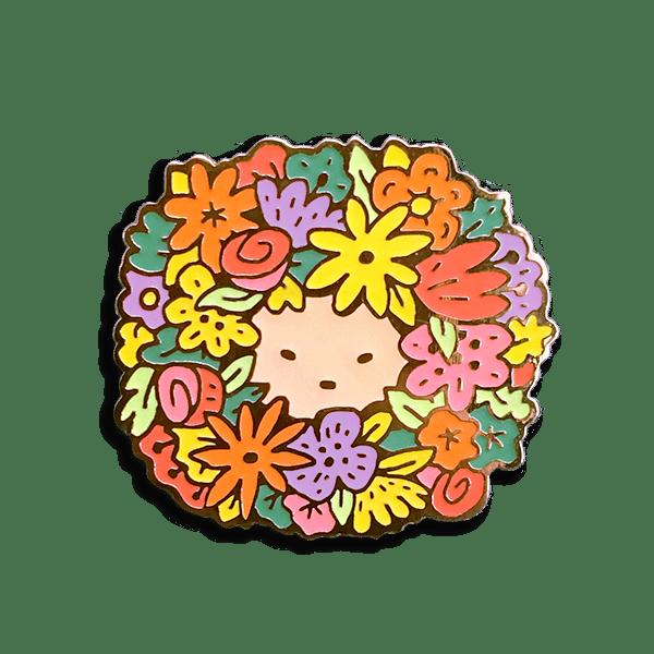 Image of Flower Boy Zine + Enamel Pin