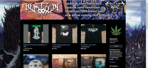 Image of ALL MERCH IS ON OUR BANDCAMP