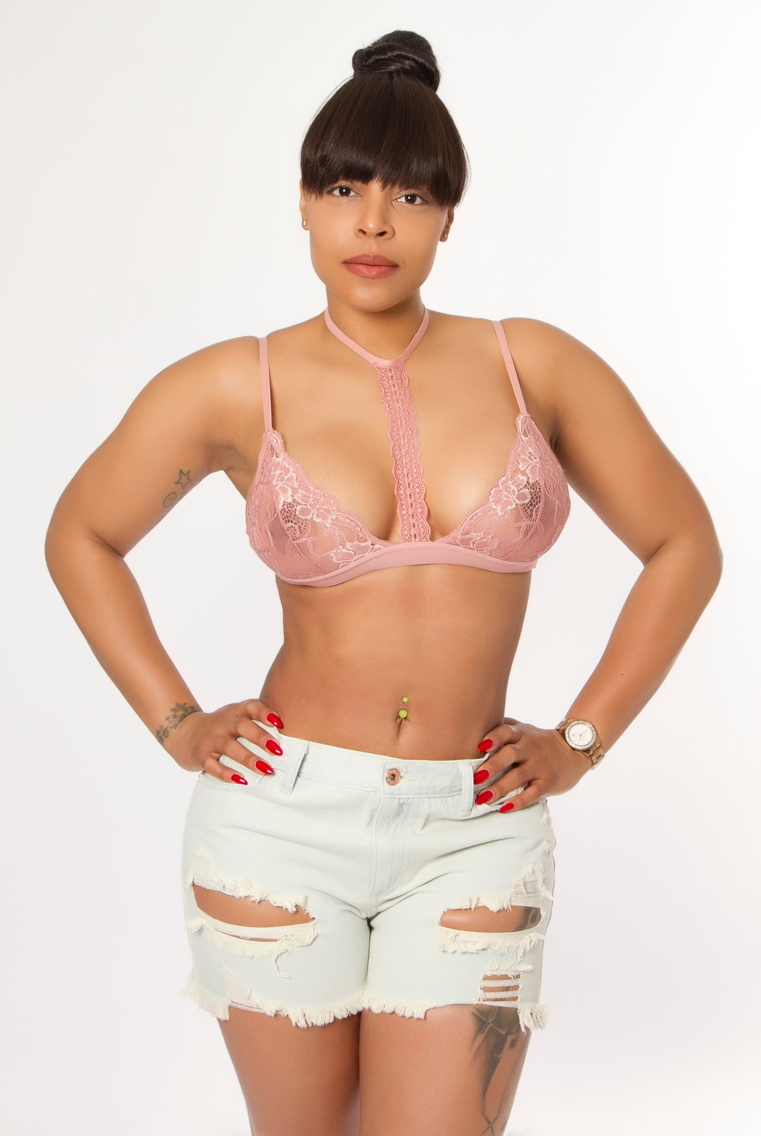 Image of Rose Lace Bralette