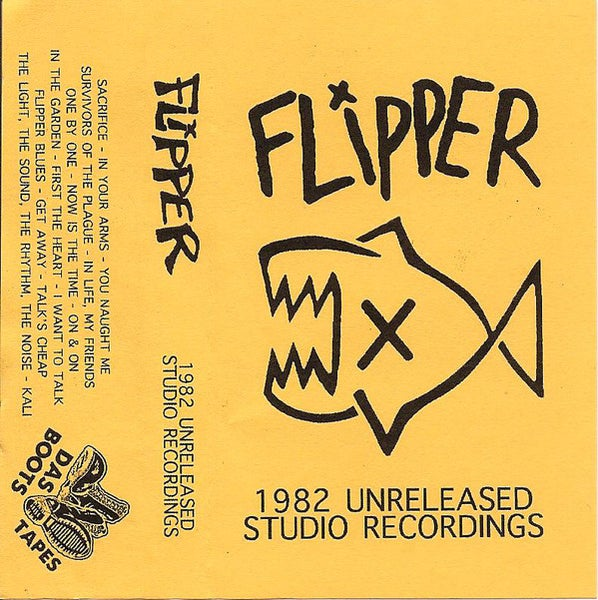 "Image of FLIPPER - ""1982 Unreleased Studio Recordings"" cassette"