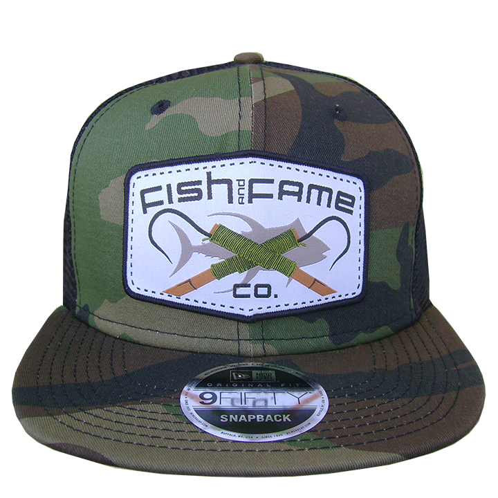 Image of Originator Gaff® Trucker (camo/blk)