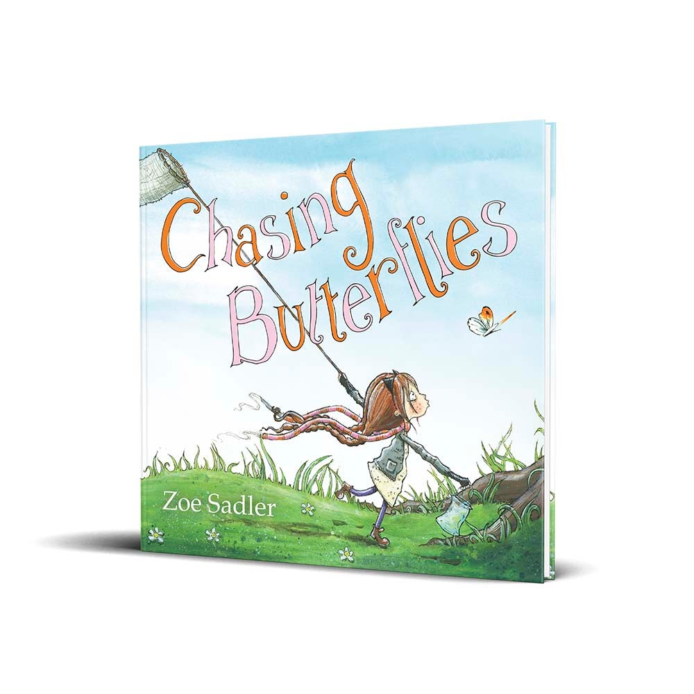 Image of PRE-ORDER: Chasing Butterflies