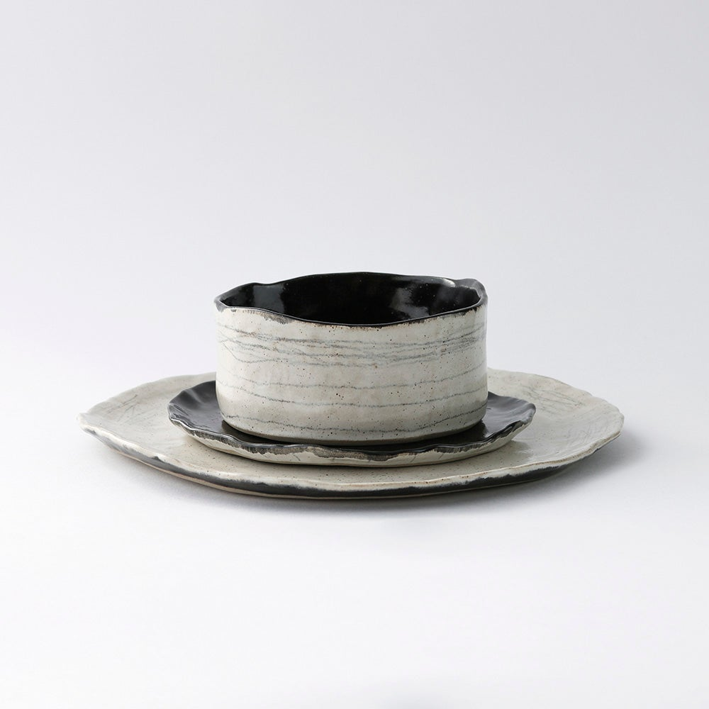 Image of Lines Collection | Bowl & Plates | £40.00 - £45.00