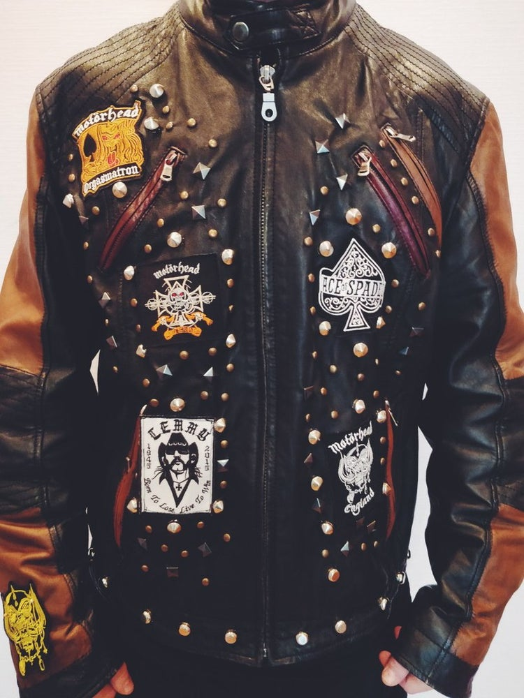 Image of Lemmy Leather Jacket
