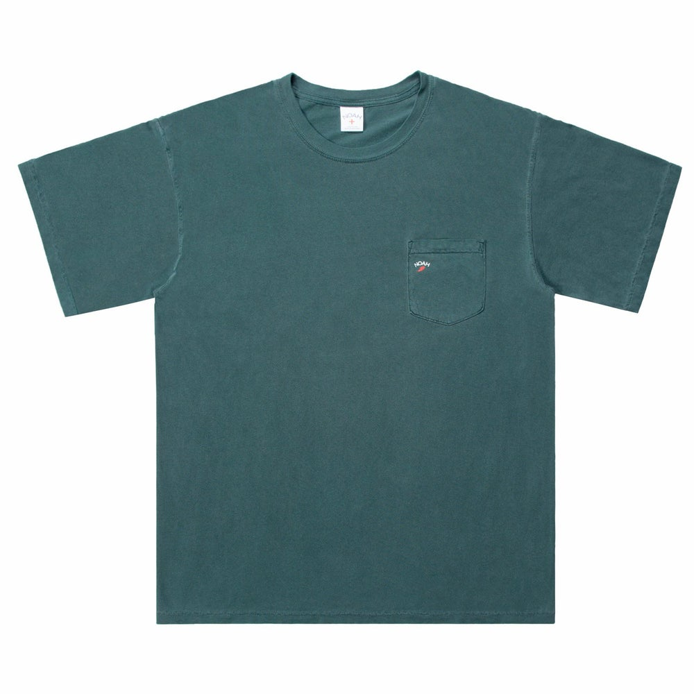 Image of NOAH - Pocket Winged Foot Tee (Willow)