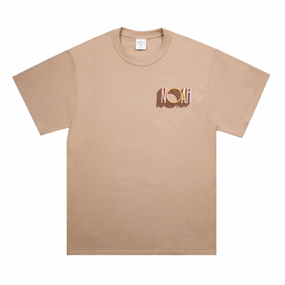 Image of NOAH - Decade Tee (Brown)
