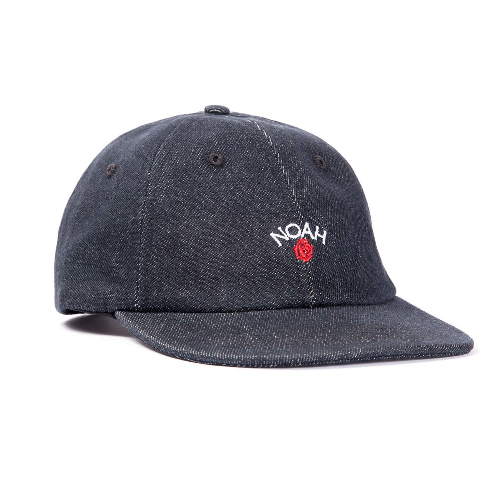 Image of NOAH - NY Rose 6-Panel (Black)
